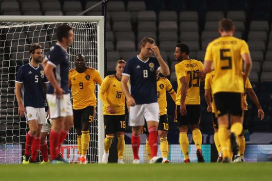 Romelu Lukaku opened the scoring for Belgium.
