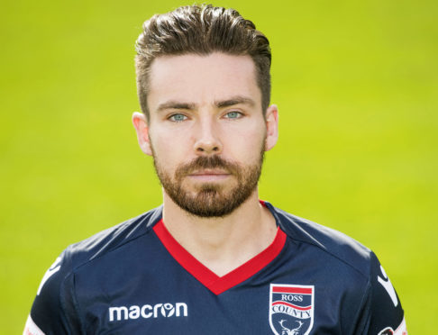 Ryan Dow joined Ross County in 2016.
