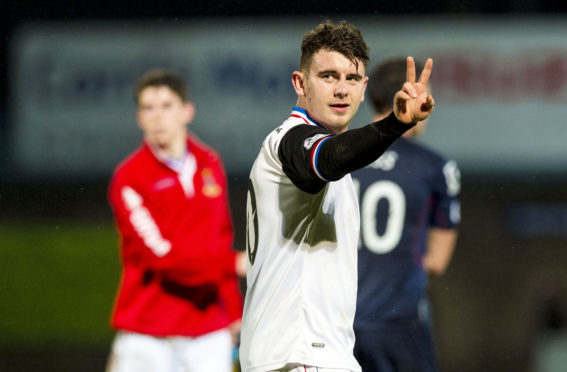 Aaron Doran has five goals in 14 Highland derbies for Caley Thistle.