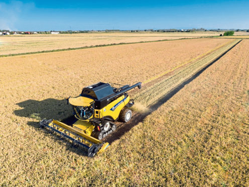 The company is a New Holland dealer.