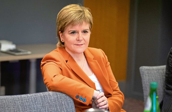 Nicola Sturgeon attacked Theresa May's Brexit deal