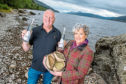 Lorien and Kevin Cameron-Ross have produced Loch Ness Absinthe using homegrown botanicals and the pure waters nearby.
