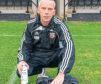 Rothes FC physio Brian Neish .