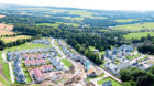 Oldfold Village phase 2 aerial - CALA Homes