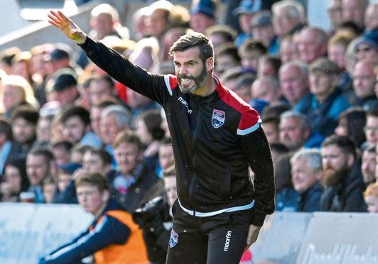 Ross County co-manager Stuart Kettlewell