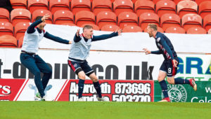 Billy Mckay embraces role as hat-trick hero in Ross County's demolition of Dundee United