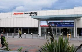 Aberdeen International Airport in Dyce.
