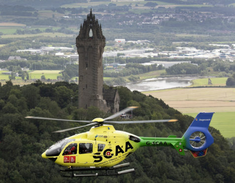 Scotlands Charity Air Ambulance (SCAA)