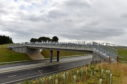 Pictured is a section of the AWPR with a wildlife bridge.   Picture by Scott Baxter  13/09/2018