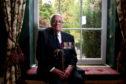 Guest of honour John Alexander Cruickshank, who recieved the Victoria Cross for sinking a German U-Boat.