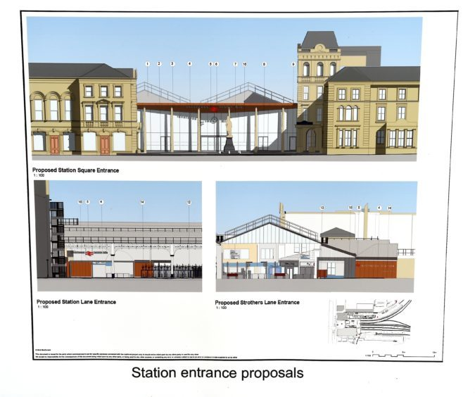 Visualisations of the proposed development.