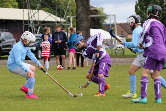 Camanachd Association  recieves £9700 to help engage young people from across the country in the sport.