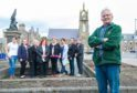 The Friends of Buckie Square team is hoping to revitalise Cluny Square.