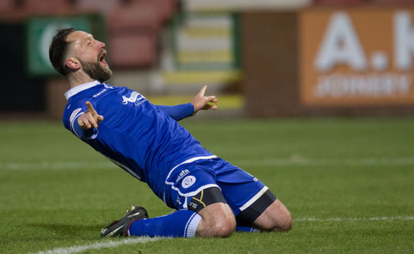 Stephen Dobbie has netted 21 goals for Queen of the South so far this season.