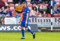 Caley Thistle defender Shaun Rooney.