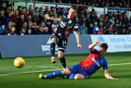 Josh Mullin credits Ross County managerial duo for helping him reach peak form