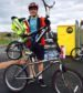 "Finley Cousins, 15-year-old who welded together his own ""double-decker"" bike"