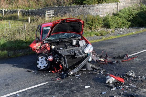 RTC on the B9002 near the A96 junction . 07/09/18. Picture by KATH FLANNERY