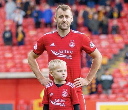 Niall McGinn and Cameron Dalgarno.