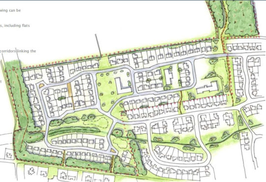 An artist's impression of the development released at the time of the masterplan in 2014.