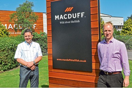Euan Beaton and Roy Cunningham of Macduff.