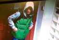 CCTV images from the Aberdeen mosque
