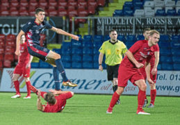 New striker Ross Stewart has no regrets over move to Dingwall