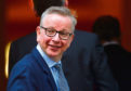 UK Environment Secretary Michael Gove