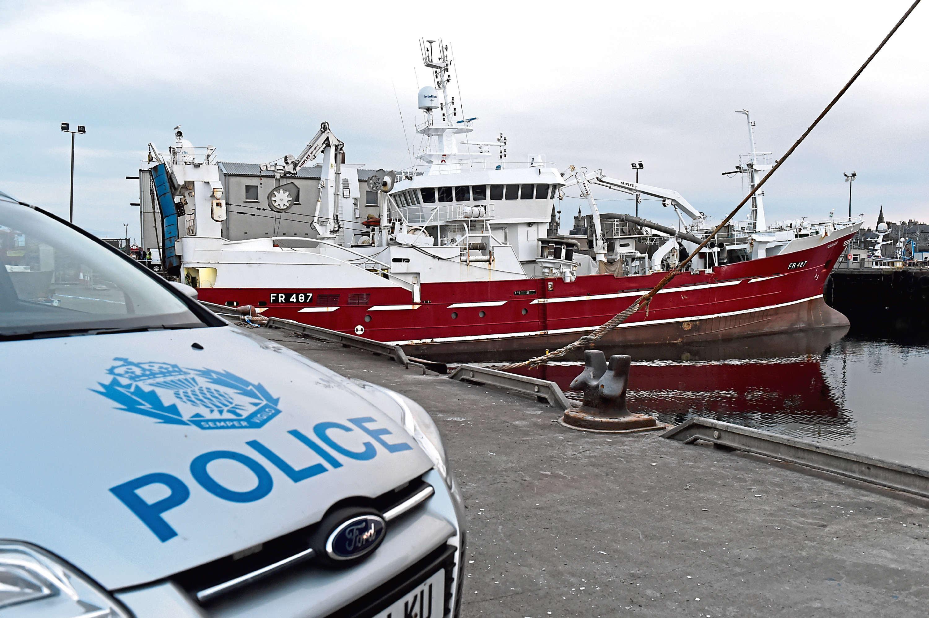 Low oxygen levels and toxic gas detected following Fraserburgh fishermen's death