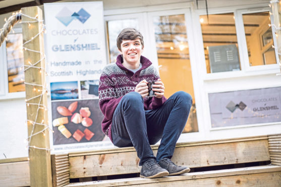 Finlay Macdonald is the founder of Chocolates of Glenshiel.