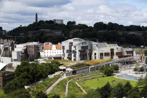 Holyrood in Edinburgh.