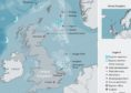 A map showing Equinor's UK interests.