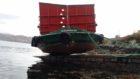 Ferry aground RNLI
