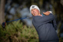 Matt Kuchar in action at Kingsbarns