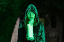 The fabled Green Lady, who is said to haunt Stirling Castle, features on the new Scotland's Ghost Trail from VisitScotland.