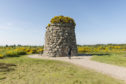 The Jacobite Memorial Cairn at Culloden Battlefield