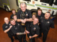 Buckie Fire and Rescue Station say goodbye to Alan Cruickshank who has served 40 years and is now officially retiring.