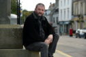 Gordon Cruden is area manager for a charity which helps people overcome addiction. Picture by Kenny Elrick.