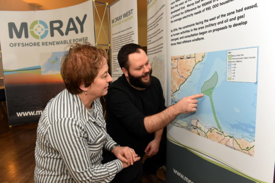 Plans were drawn up in 2016 to expand the Moray East Offshore Windfarm westwards.