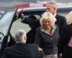 HRH The Dutchess of Rothesay, arrives at Aberdeen Airport to officially open the new BA Lounge.