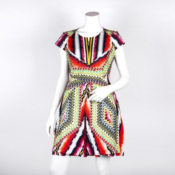 Businesswoman and The Apprentice star Karren Brady has donated a Peter Pilotto dress
