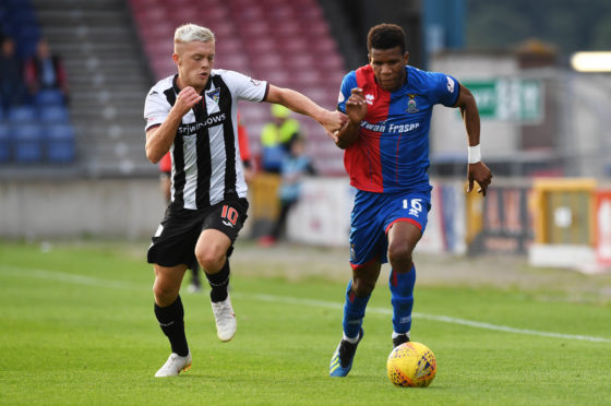 Riccardo Calder wants to start turning Caley Thistle's draws into wins.