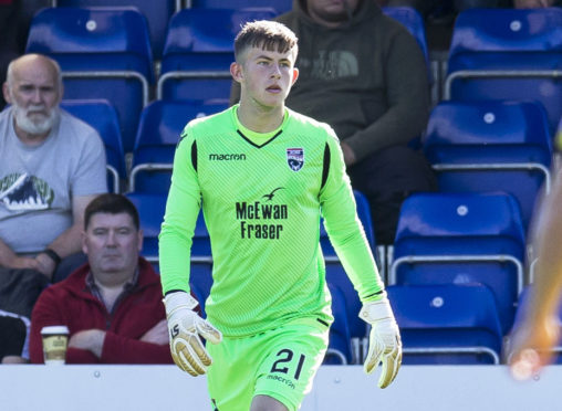 Ross Munro was called up for the Scotland under-21 squad earlier this month.