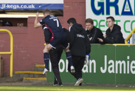 Ross County's Michael Gardyne out for six weeks with broken foot