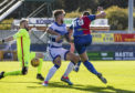 06/10/18 LADBROKES CHAMPIONSHIP INVERNESS CT v MORTON TULLOCH CALEDONIAN STADIUM - INVERNESS Inverness' Jordan White makes it 1-1