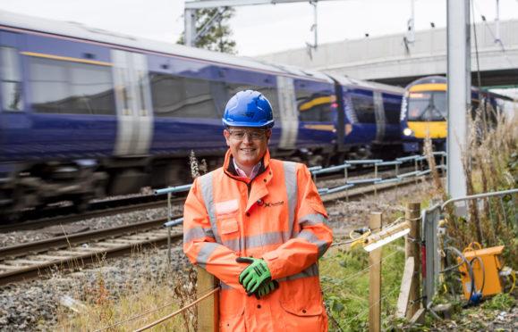 01/10/18 - 18100101 - SCOTRAIL  STIRLING RAILWAY STATION - STIRLING   Improvements works at Stirling Railway Station   Pictured - Alex Hynes