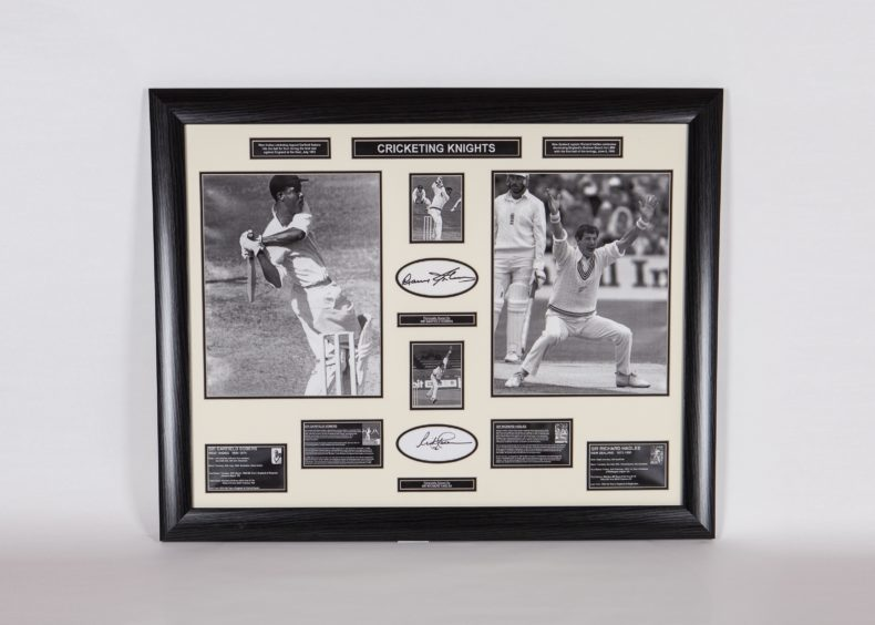 Cricket memorabilia from Sir Garfield Sobers and Sir Richard Hadlee are going under the hammer.