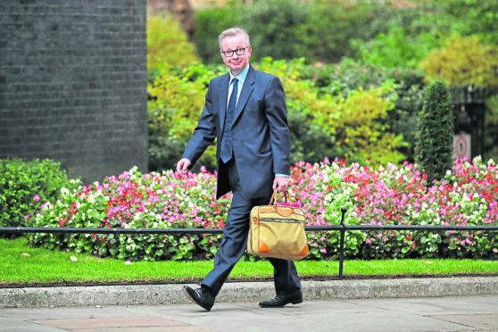 UK Environment Secretary Michael Gove