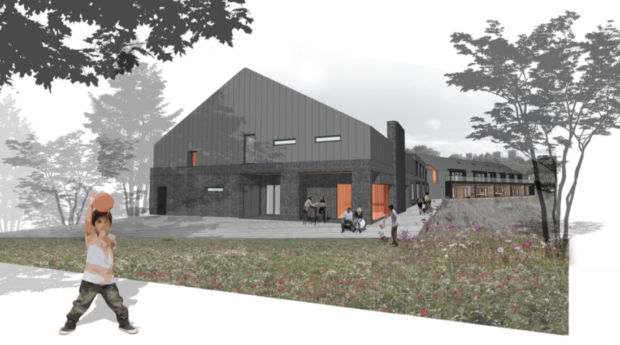 The proposed facility would offer support to severely disabled children.