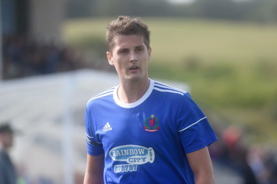 Cove Rangers midfielder Daniel Park.
